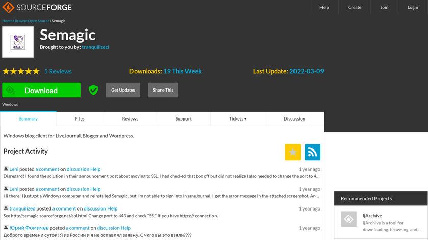 SeMagic Landing Page