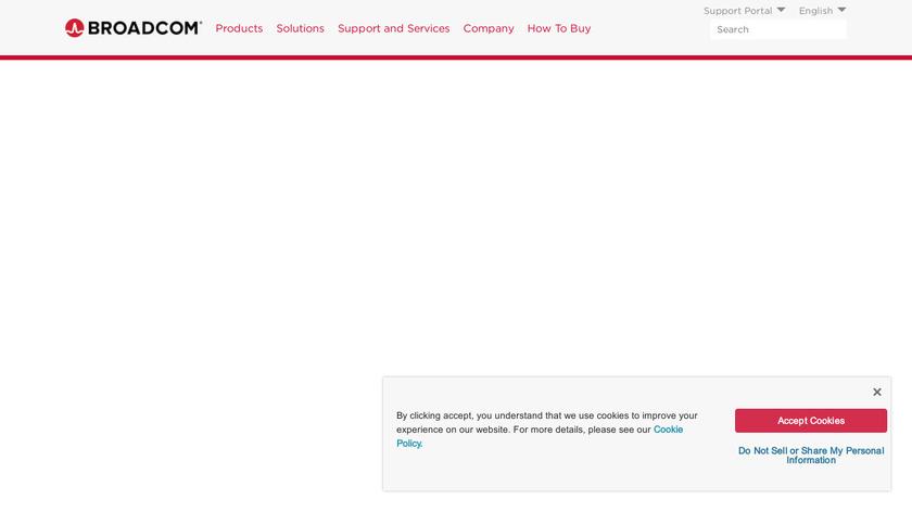 Symantec Messaging Gateway Landing Page