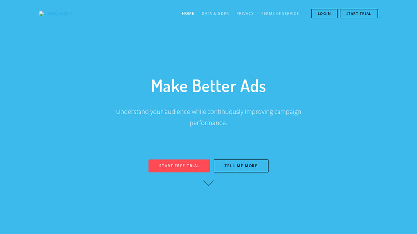 Adclouds.io Landing Page