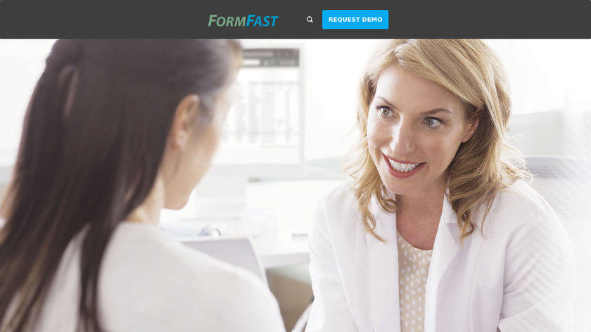 FormFast Landing Page