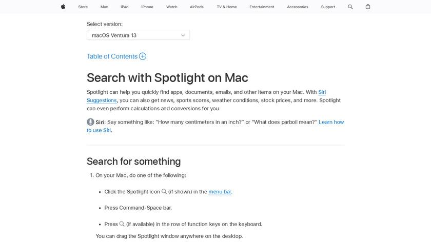 Spotlight Landing Page