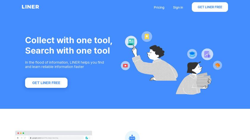 Liner Landing Page
