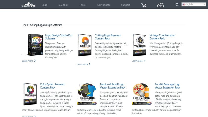 Logo Design Studio Landing Page
