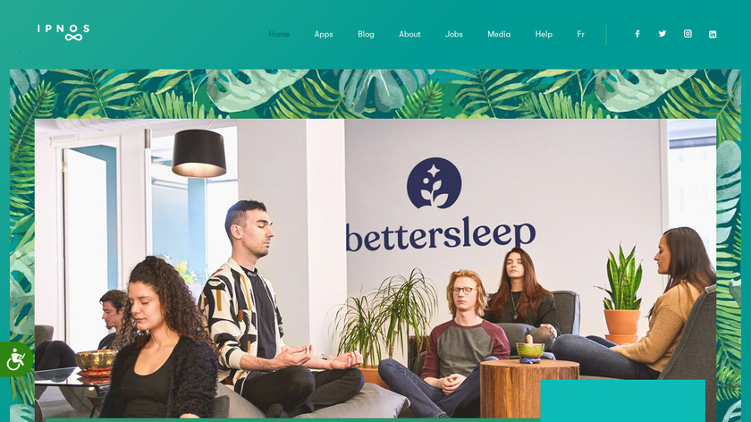 Relax Melodies Landing Page