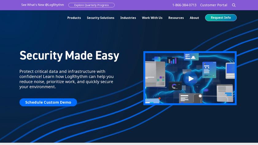 LogRhythm Landing Page