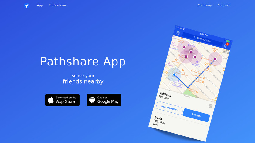 Pathshare Landing Page