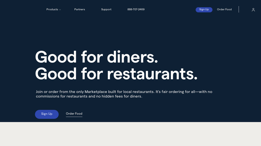 ChowNow Landing Page