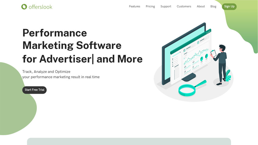 Offerslook Landing Page