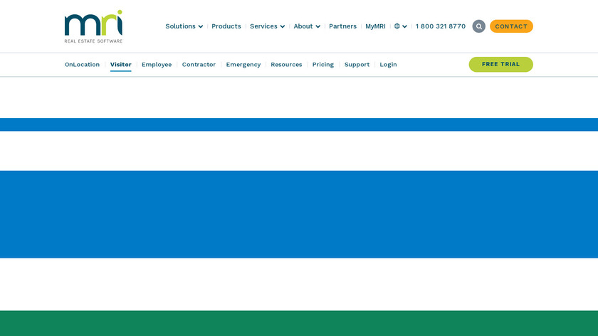 WhosOnLocation Landing Page