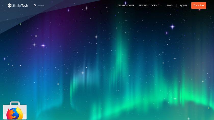 Similar Tech Landing Page