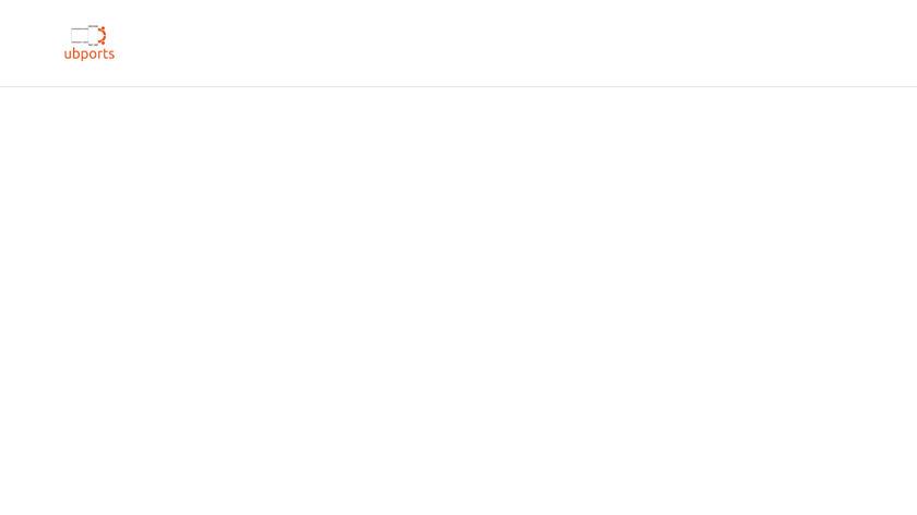 Ubuntu Touch Landing Page
