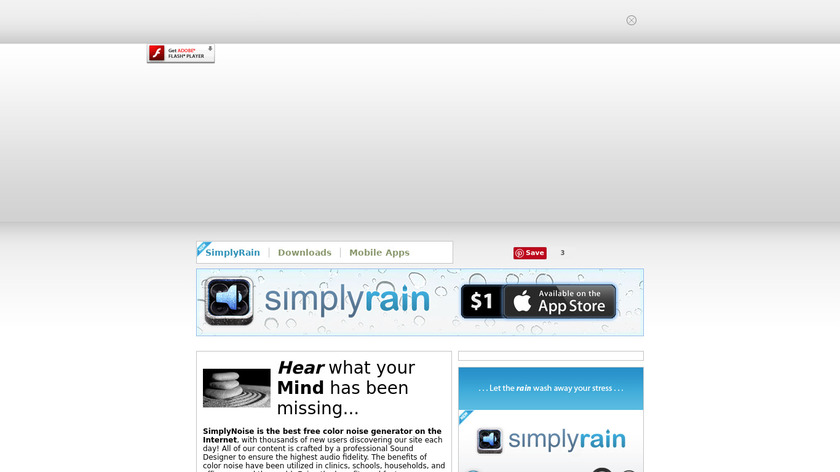 SimplyNoise Landing Page