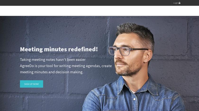 AgreeDo Landing Page