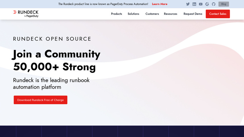 RunDeck Landing Page