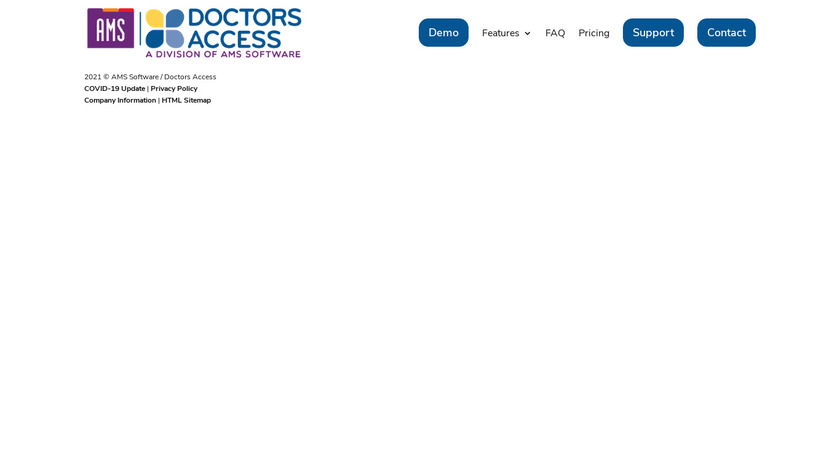 AMS Landing Page