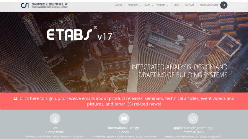 Etabs Landing Page
