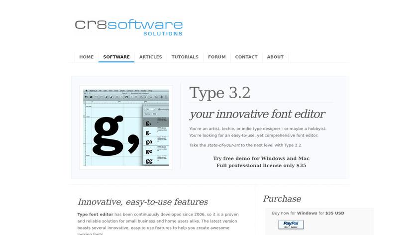 Type 3.2 Landing Page