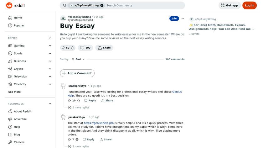 Buy2Essays.com Landing Page