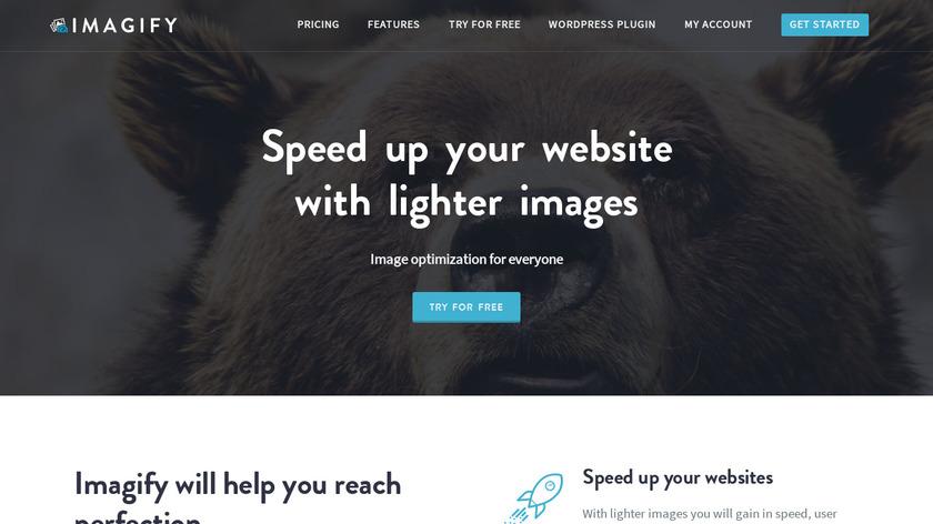 Imagify Landing Page