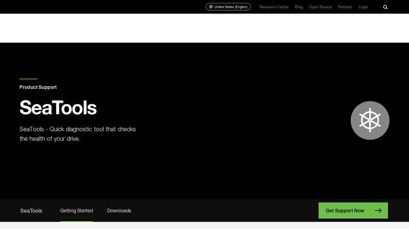 SeaTools Landing Page