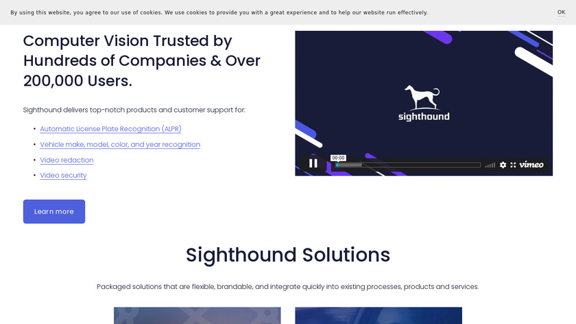 Sighthound Video Landing Page