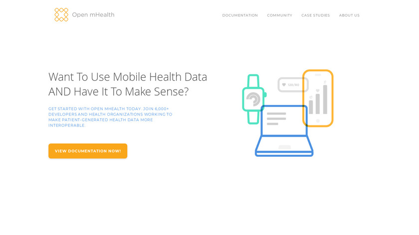 Open mHealth Landing Page
