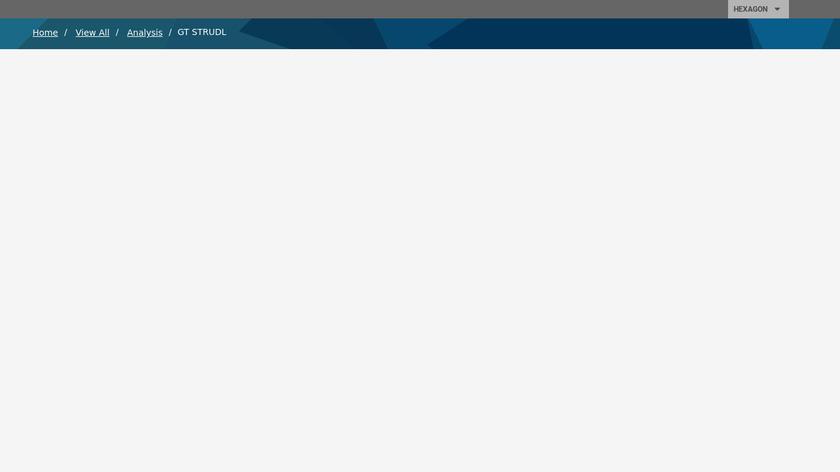 GT Strudl Landing Page