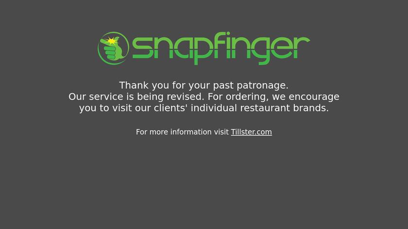 Snapfinger Landing Page