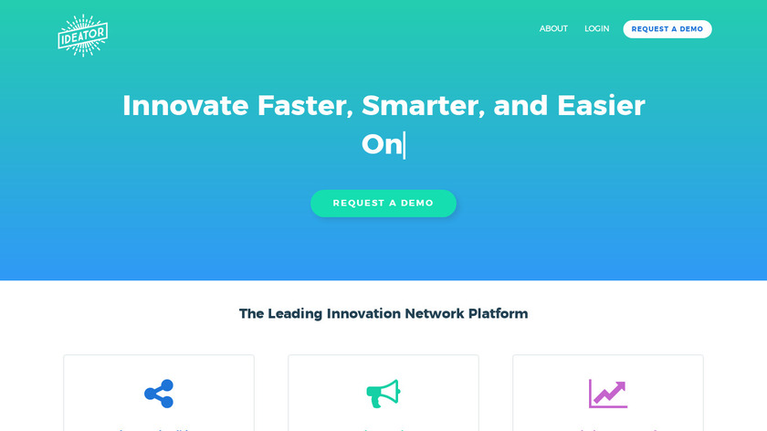 Ideator Landing Page