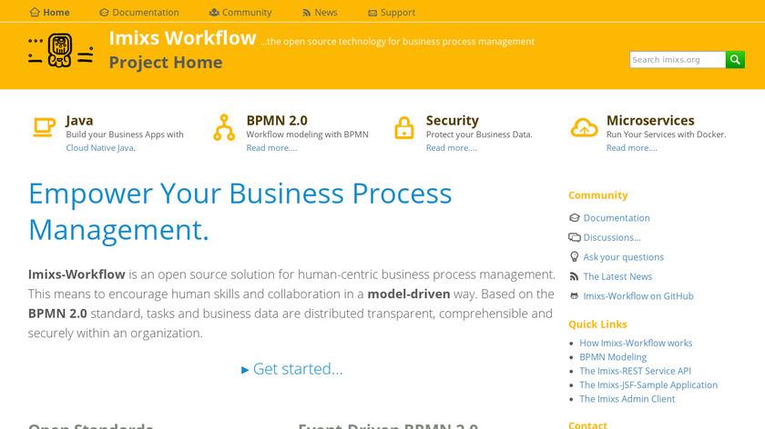 Imixs-Workflow Landing Page