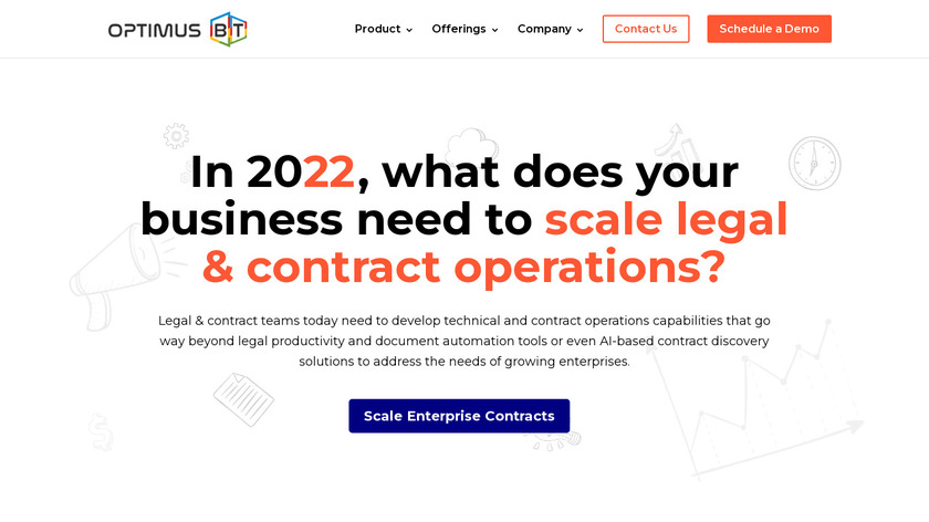 eContracts Landing Page