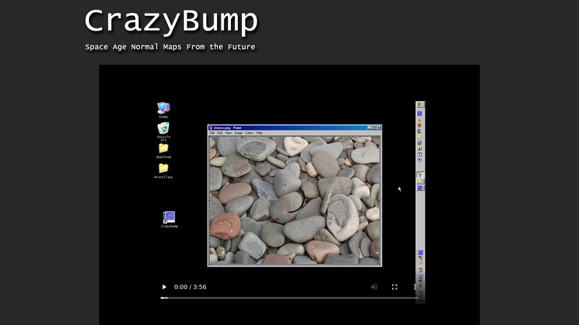 Crazybump Landing Page