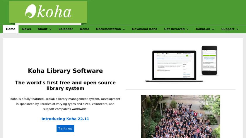 Koha Landing Page