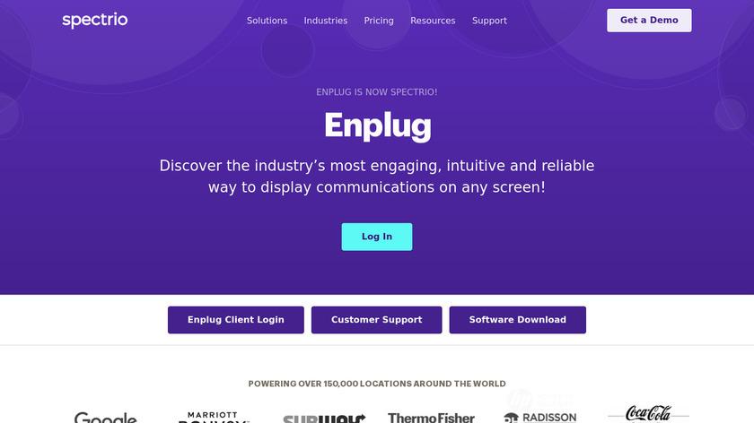 Enplug Landing Page
