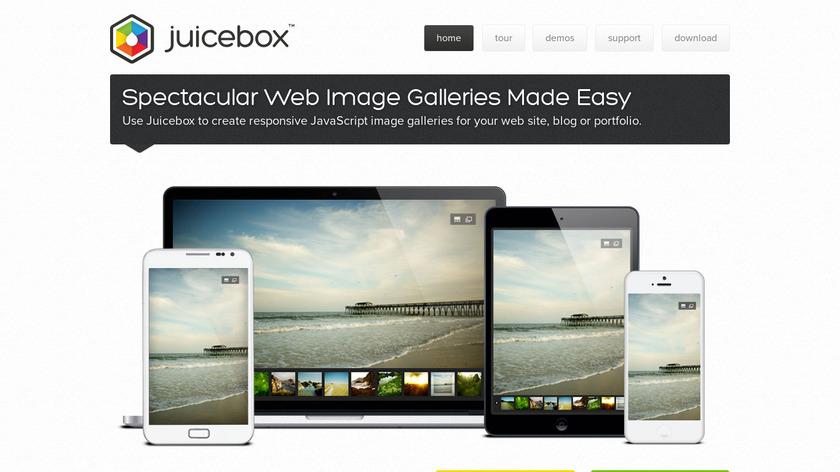 Juicebox Landing Page
