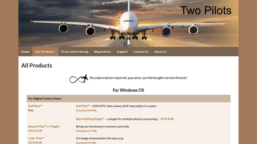PDF2Text Pilot Landing Page