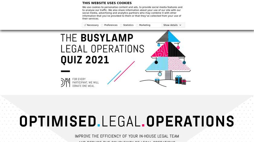 BusyLamp Landing Page