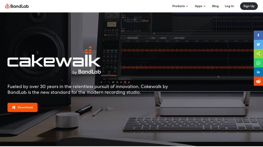 Cakewalk Landing Page