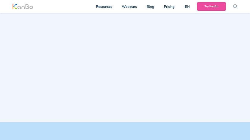 KanBo Landing Page