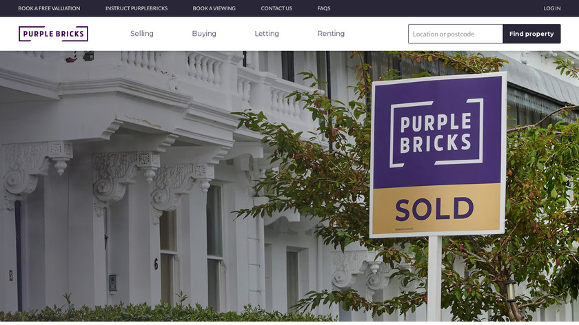 PurpleBricks Landing Page