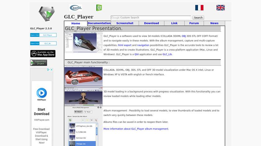 GLC_Player Landing Page
