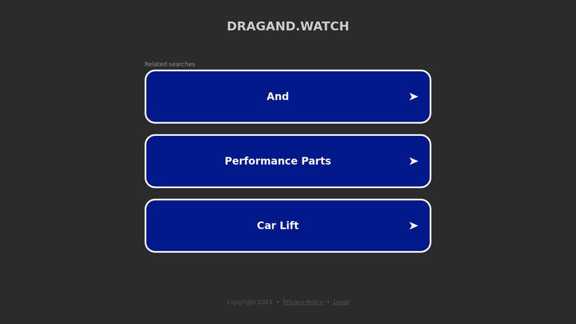 DRAGAND Landing Page