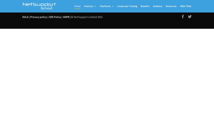 NetSupport School Landing Page