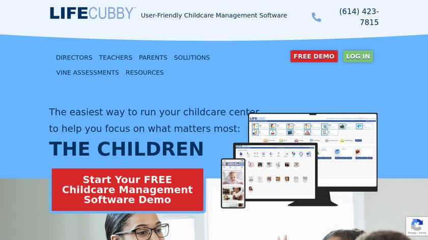 LifeCubby Landing Page