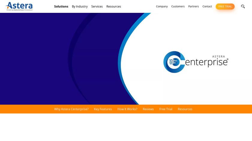 Centerprise Data Integrator Landing Page
