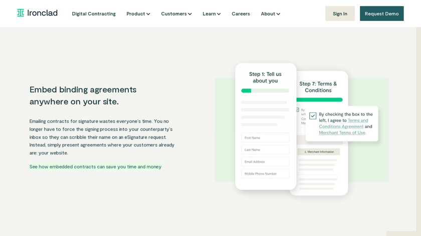 PactSafe Landing Page