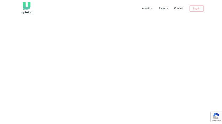 Upinion Landing Page