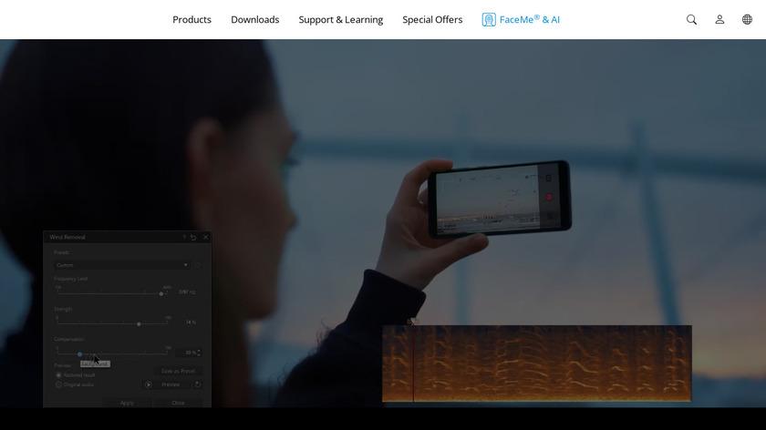 AudioDirector Landing Page