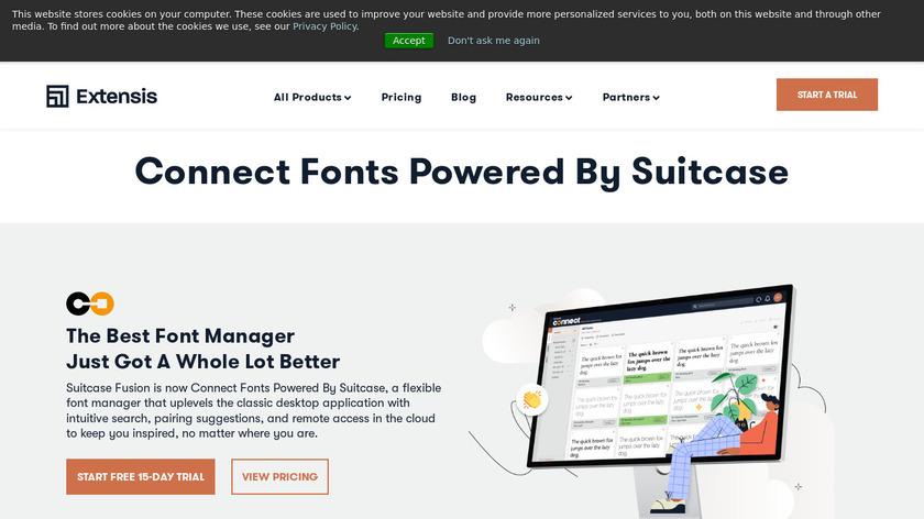 Suitcase Fusion Landing Page