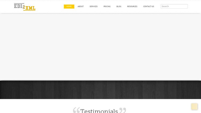 EDI2XML Landing Page